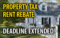 4.	Deadline to Apply for Property Tax/Rent Rebate Program Extended